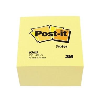3M Küp Not Sarı Renkli